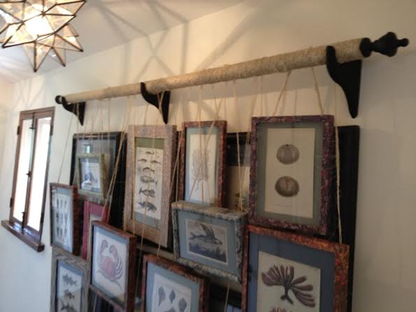 Picture Frames Hanging From Curtain Rod Framesite Co